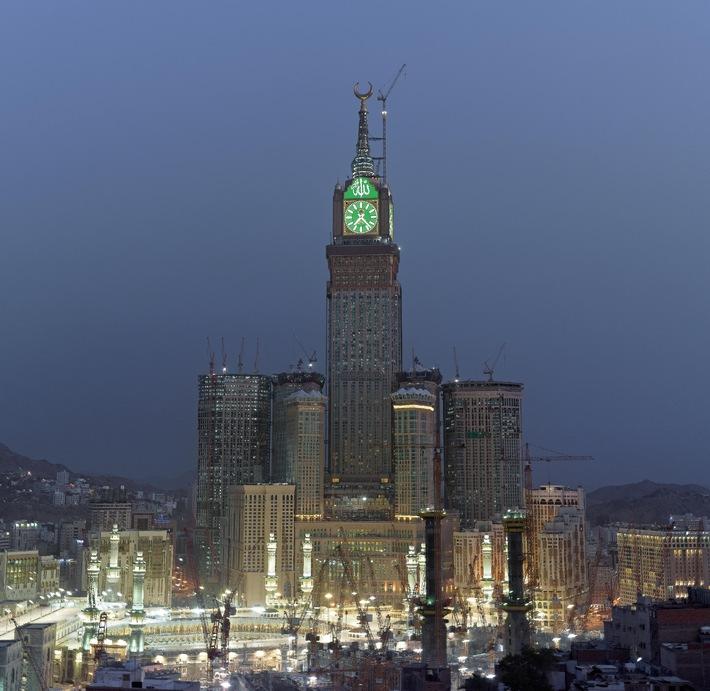 AVISO: Presseeinladung: Mekka-Projekt der Superlative erstmalig präsentiert