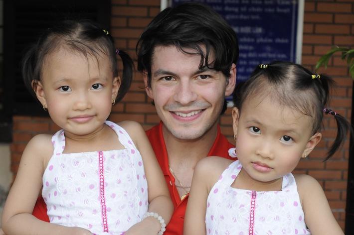 Stéphane Lambiel wird Botschafter für SOS-Kinderdorf