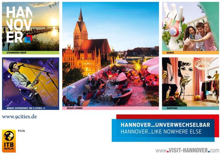 Internationale Tourismusbörse Berlin / ITB: Hannover präsentiert sich ganz persönlich
