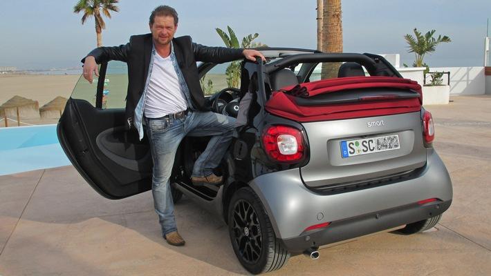 """GRIP - Das Motormagazin: """"Das neue Smart Cabrio"""""""