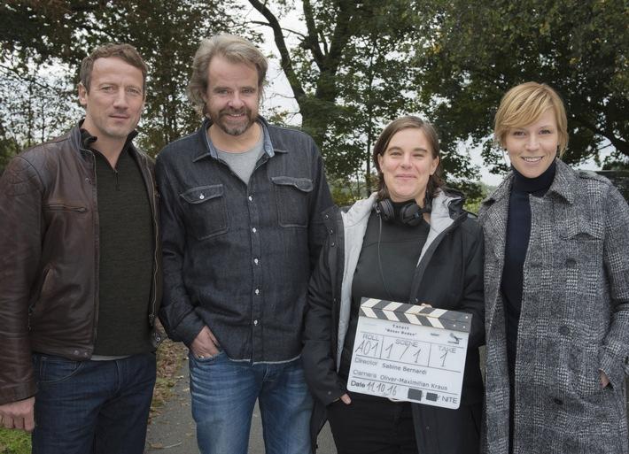 """Drehstart für den nächsten """"Tatort"""" mit Wotan Wilke Möhring und Franziska Weisz - Gastauftritt für """"AnnenMayKantereit"""""""
