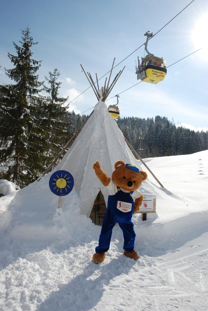 Kinder-Skigaudi in der Skiregion Dachstein West