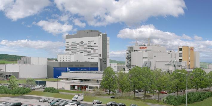 Fulda: Neues Milupa-Werk eröffnet