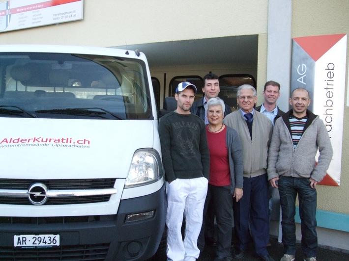 Die H.J. Diem AG sorgt für Nachfolge - Im Januar 2012 übernimmt Alder + Kuratli GmbH das renommierte Malergeschäft