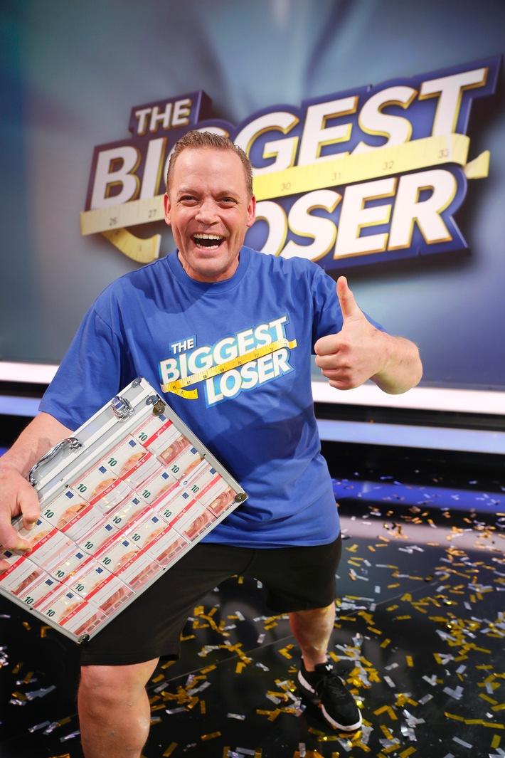 """Fette Quote zum Finale: """"The Biggest Loser"""" erzielt starke 14,2 Prozent Marktanteil / Sieger Stefan verliert 65 Kilo und gewinnt 50.000 Euro"""