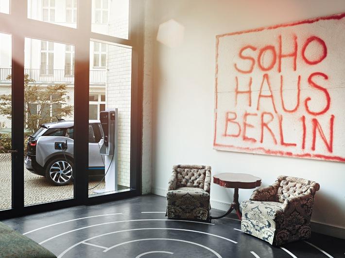 BMW i und Soho House geben weltweite Partnerschaft bekannt