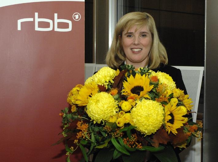Rundfunkrat wählt Dr. Claudia Nothelle zur neuen Programmdirektorin des rbb