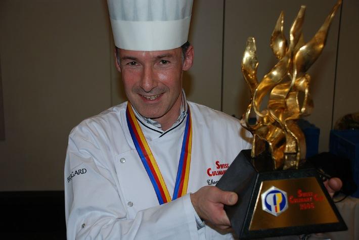 Kochverband - Thomas Brunner, Küchenchef im Kantonsspital Olten, gewinnt den Swiss Culinary Cup 2006!