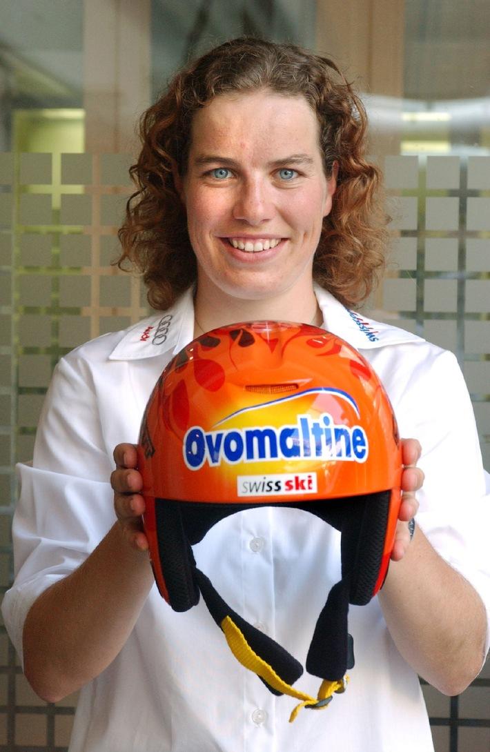 Nadia Styger défend désormais les couleurs d'Ovomaltine