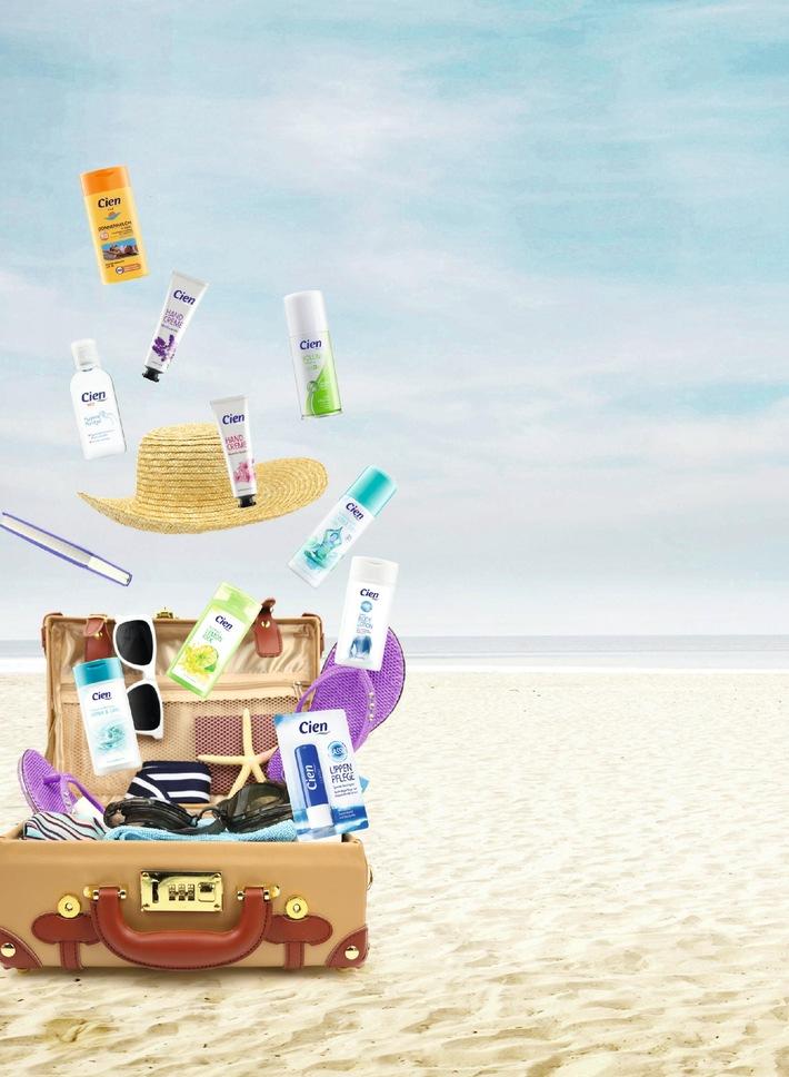 Die richtige Kosmetik im Urlaub / Dermatologe Dr. Frank-Matthias Schaart verrät Pflegetipps für unterwegs. Und empfiehlt: Die praktischen Cien-Reisegrößen - jetzt bei Lidl