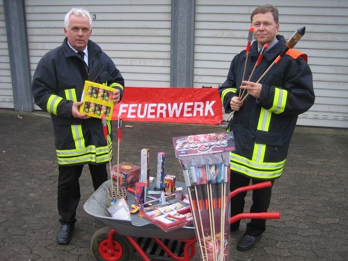 FW-LFVSH: SILVESTERFEUERWERK: Feuerwehr gibt Tipps und Hinweise