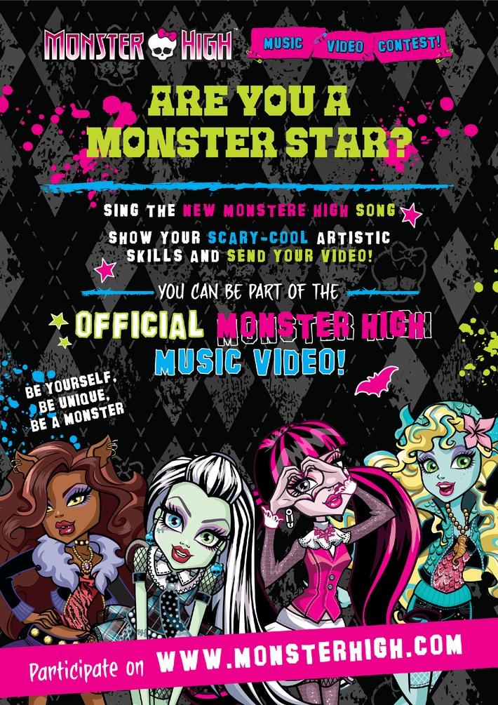 Monsterfreunde aufgepasst: Monster High Videowettbewerb für Fan-Song von Madison Beer