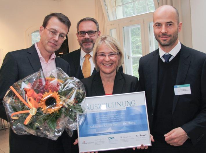 Asklepios Klinik Nord - Heidberg für Engagement bei der Organspende ausgezeichnet / Ministerin Kristin Alheit überreicht Organspendepreis in der DSO-Region Nord
