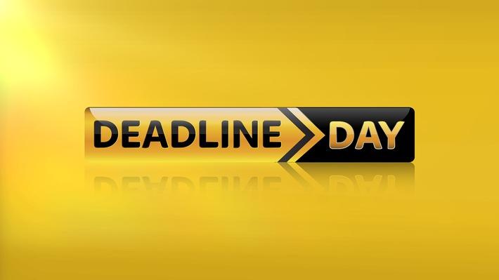 """Montag ist """"Deadline Day"""": der Countdown zur Schließung des Transferfensters auf Sky Sport News HD"""