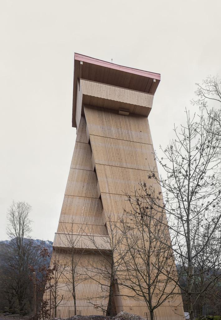 La tour du parc animalier: de nouvelles perspectives