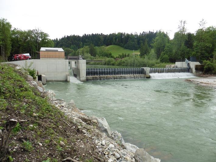 Inauguration de la centrale hydroélectrique de Gohlhaus / Journée portes ouvertes