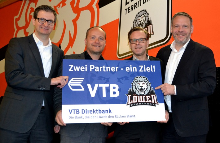 VTB Direktbank verlängert Engagement als Hauptsponsor der Löwen Frankfurt