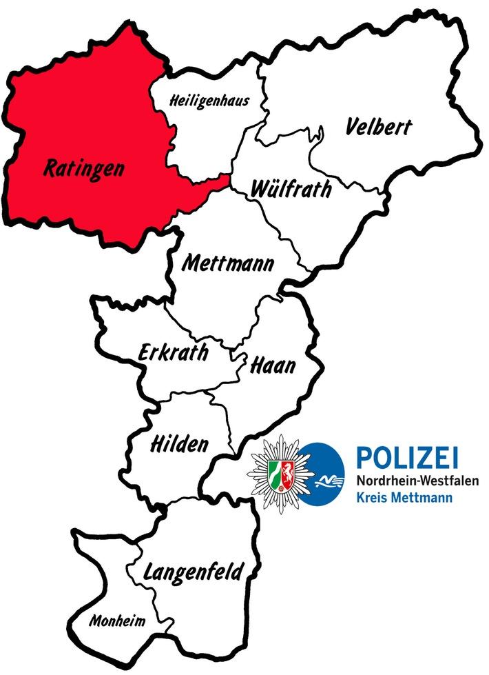 POL-ME: Bus kommt von Fahrbahn ab - 4 verletzte Personen und hoher Sachschaden - Ratingen - 1709054