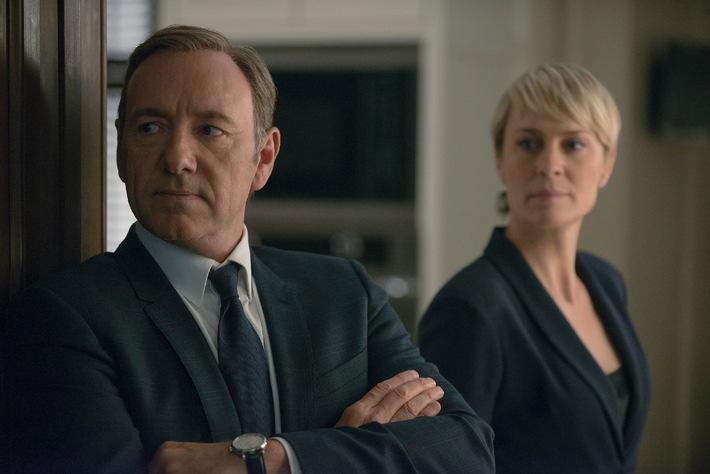 """Die komplette dritte Staffel von """"House of Cards"""" ab 27. Februar exklusiv und zuerst auf Sky"""
