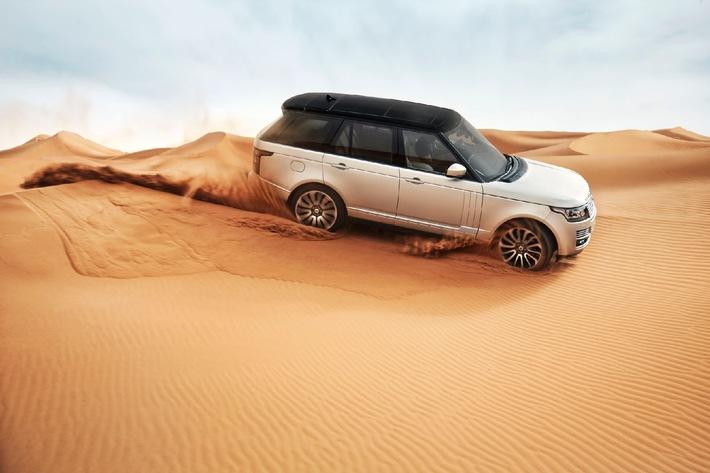 Weltweit erstes SUV mit leichter Alukarosserie an der Paris Motorshow: Neuer Range Rover - Luxus und Fahrspass in neuer Dimension