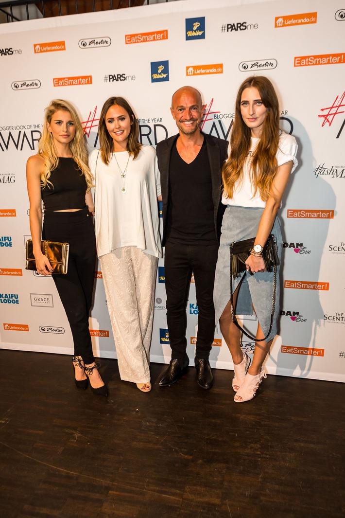 Modeunternehmen mit Blogger Look of the year Award 2016 ausgezeichnet