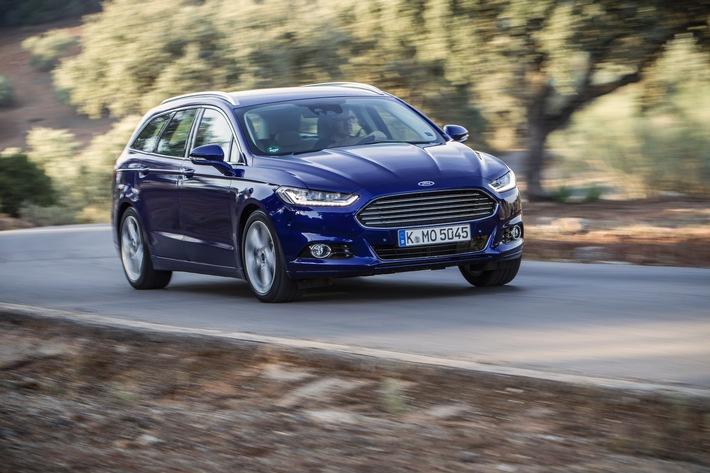 Ford Mondeo, S-MAX und Galaxy mit Verbesserungen in das neue Modelljahr