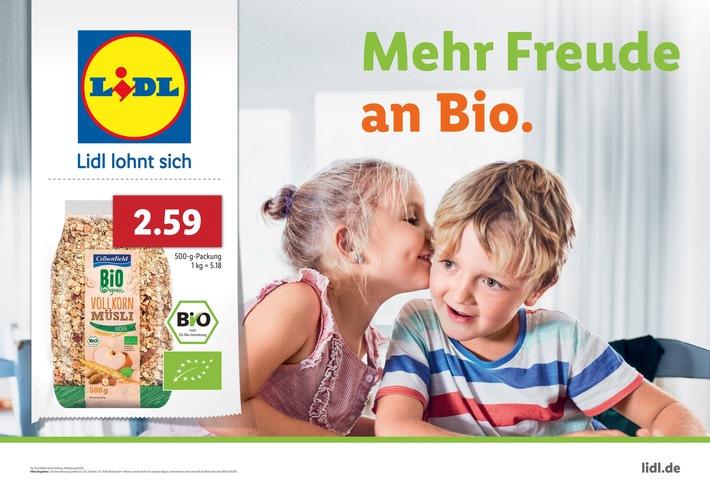 """""""Mehr Freude für alle"""" - Lidl Deutschland startet neuen Markenauftritt / Stärkere Wiedererkennung durch einheitliches Corporate Design"""