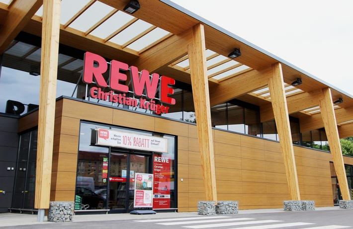 REWE eröffnet 50. Green Building in Teltow