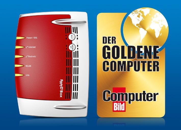"""AVM erhält """"Goldenen Computer"""" in der Kategorie eHome - FRITZ!Box ausgezeichnet"""