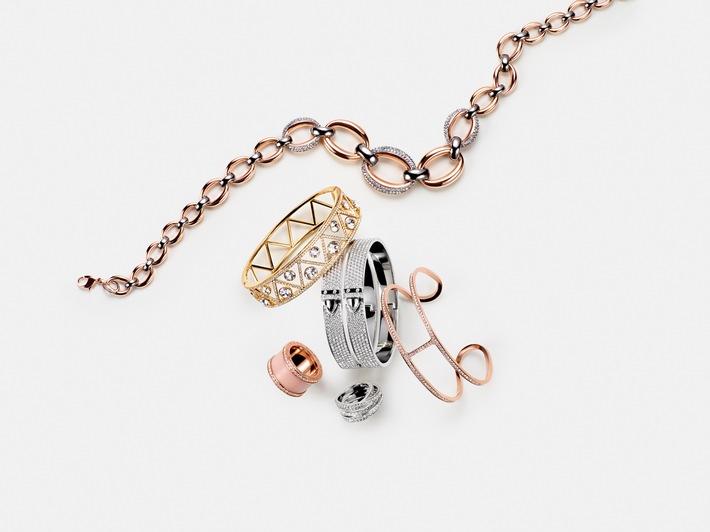 Des bijoux et des montres dans la boutique en ligne Manor