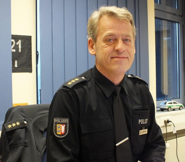 POL-SE: Polizeidirektion Bad Segeberg / Jan-Hendrik Lewering ist neuer stellvertretender Leiter der Polizeidirektion Bad Segeberg; Einladung an Medienvertreter