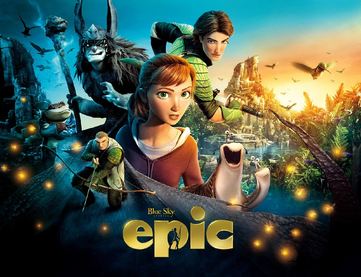 "Klitzekleine Entdeckungen: Animationsabenteuer ""Epic"" am  4. April 2015 in SAT.1"