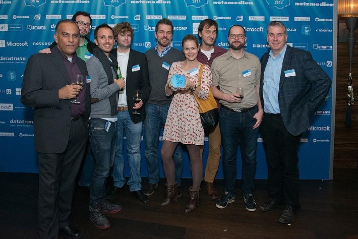 local.ch holt Gold am Best of Swiss Apps Award (BILD)