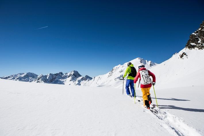 Kult-Event für Skitourengehen ALPIN-Tiefschneetage 2015 erstmals im beliebten Skitourengebiet rund um Kühtai
