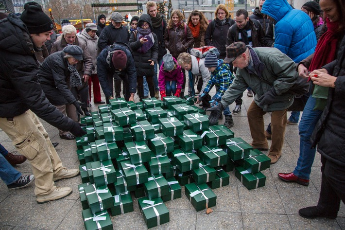 Europas größte Wichtelaktion in Berlin gestartet