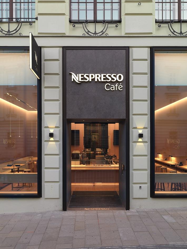 Nespresso apporte aux consommateurs viennois une nouvelle expérience de salon de café haut de gamme avec son Café Nespresso pilote