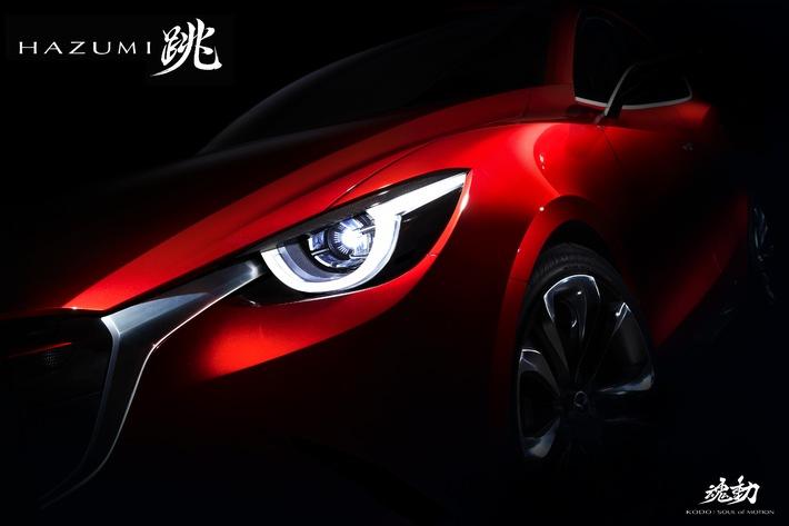 Weltpremiere des Mazda HAZUMI am Genfer Automobilsalon 2014 (BILD + ANHANG)