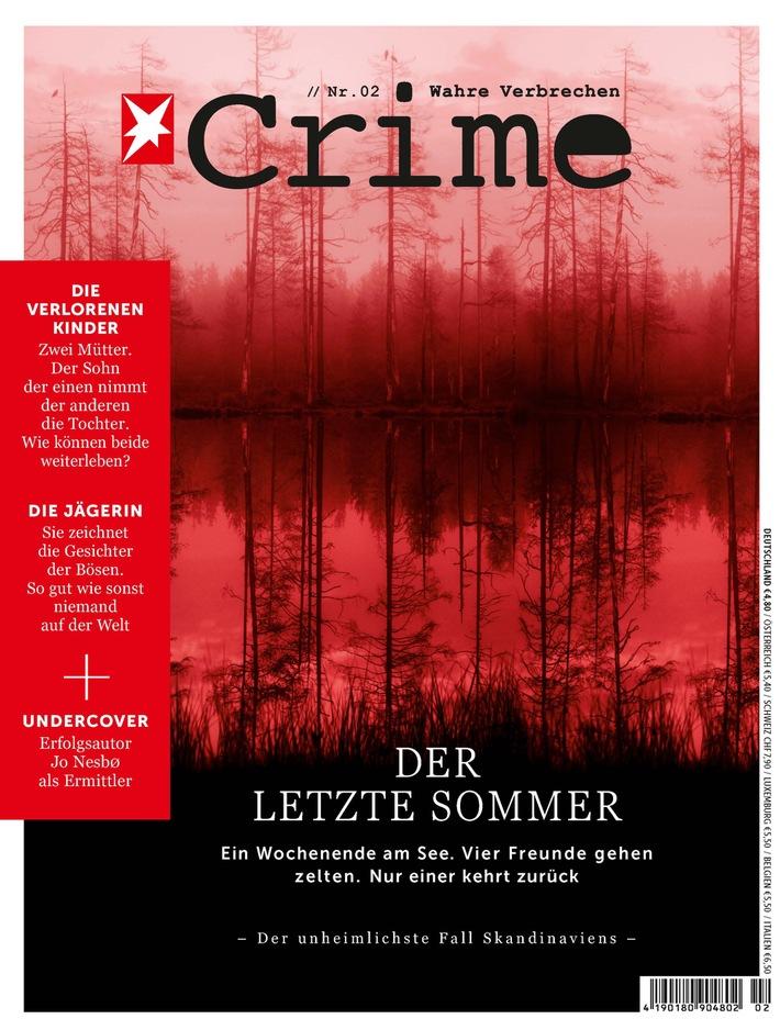 Volltreffer am Kiosk: Erstausgabe von STERN CRIME verkauft 75.000 Exemplare