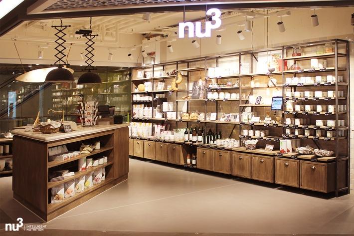 nu3Kitchen eröffnet in Bern - der erste nu3 Store für Superfoods und Fitness-Ernährung