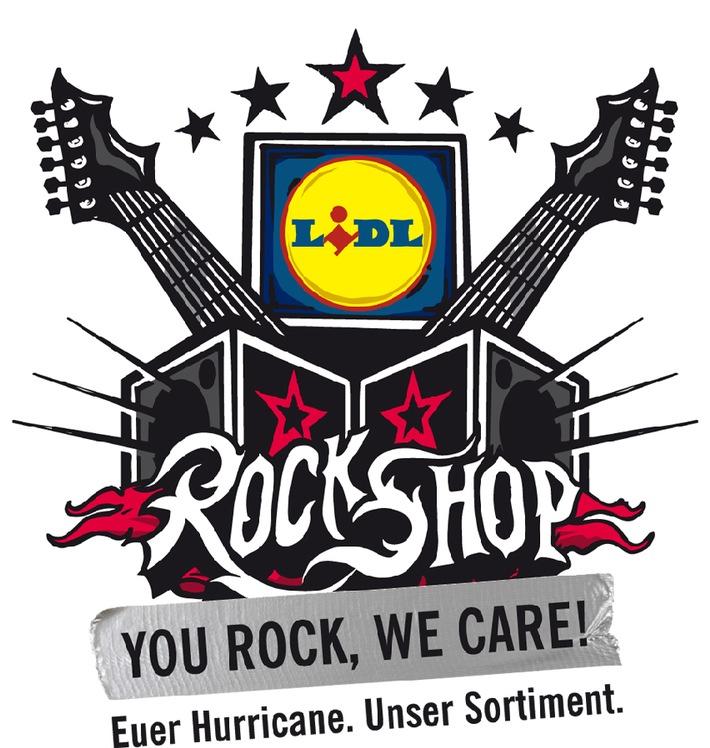 You rock, we care / Der Lidl-RockShop auf dem Hurricane Festival