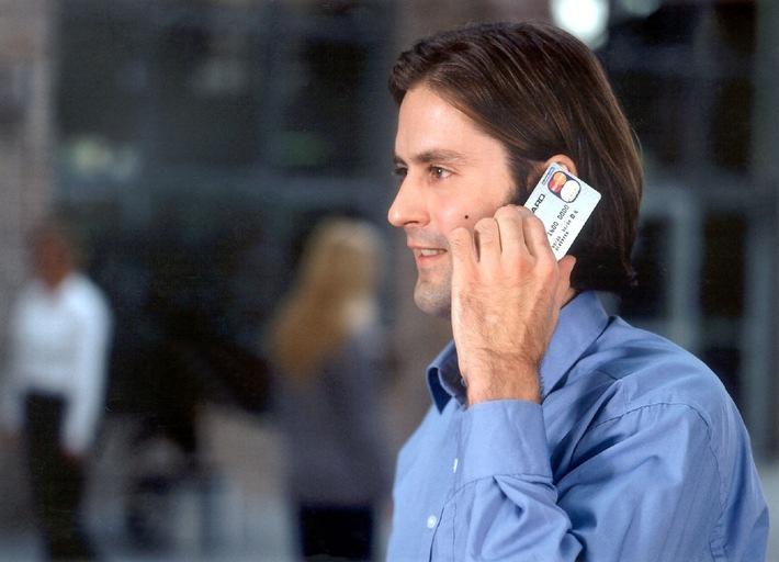 Mit der Eurocard mobil telefonieren