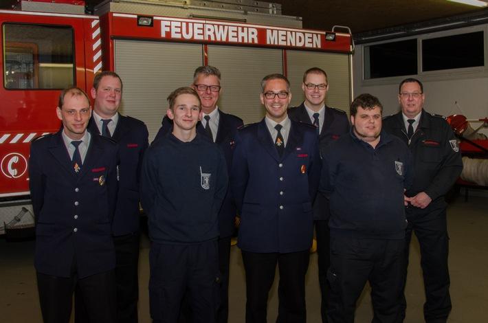 FW Menden: Jahresdienstbesprechung des Löschzuges Süd der Freiwilligen Feuerwehr Menden (Sauerland)
