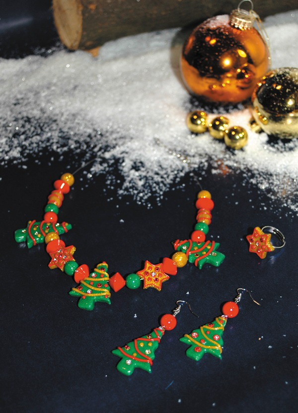 FIMO kids: Weihnachtlichen Baumschmuck kinderleicht selber basteln