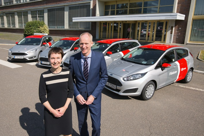 Carsharing: Flinkster macht mit Ford mobil