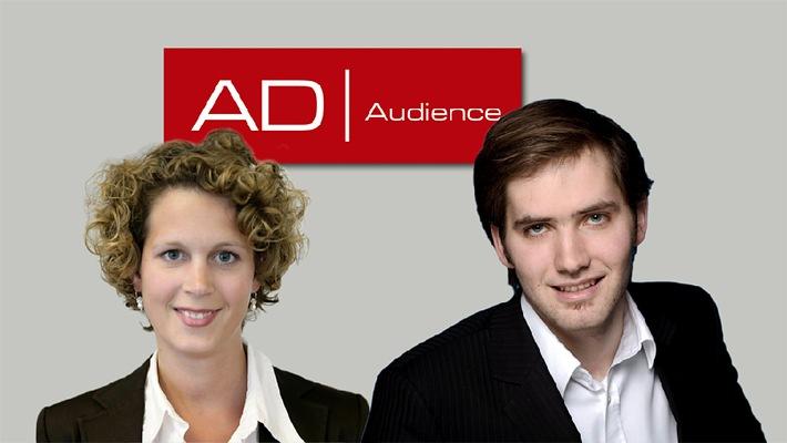 AdAudience startet Vermarktung am 1. April 2010 - Sonja Scheiper wird Verkaufsmanagerin, Tim Nieland übernimmt Produktmanagement und Business Development
