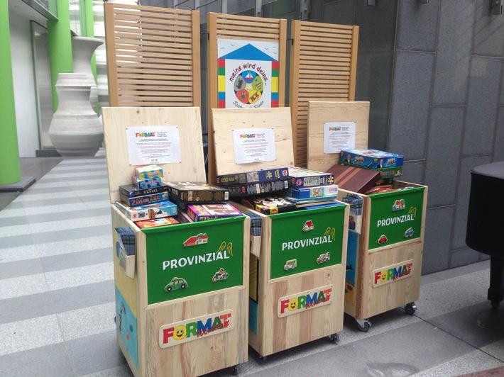 Provinzial Rheinland engagiert sich nachhaltig / Bundesweite Nachhaltigkeitswoche: Mitarbeiter des Regionalversicherers zeigten große Spendenbereitschaft