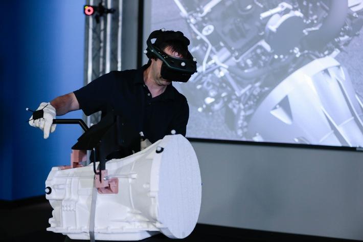 Belastung auf ein Minimum reduzieren: Virtual Manufacturing-Technologie bei Ford verbessert Montageabläufe