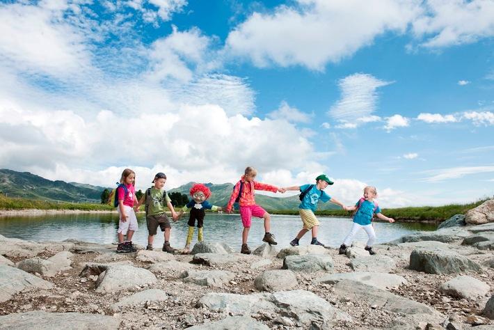 Der Tiroler Familien-Urlaubssommer startet am 9. Mai mit Kobold Kuno & Co.