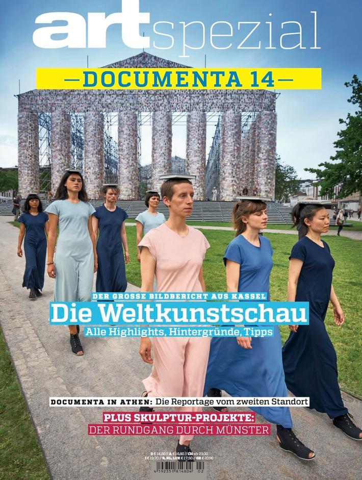 """ART-Spezial """"documenta 14"""": Magazin in nur drei Tagen produziert"""