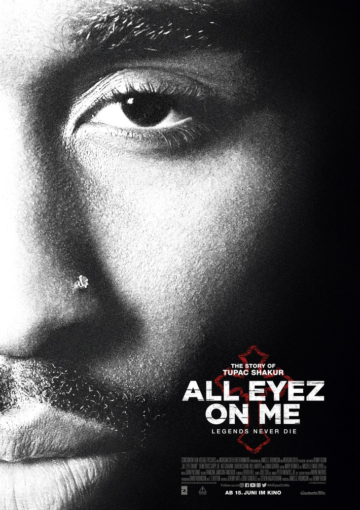 ALL EYEZ ON ME / Film über Tupac kommt am 15. Juni 2017 ins Kino